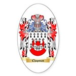 Chapman Sticker (Oval 50 pk)