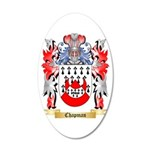 Chapman 20x12 Oval Wall Decal