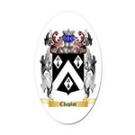 Chaplot Oval Car Magnet