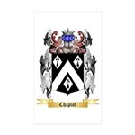 Chaplot Sticker (Rectangle 50 pk)