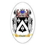 Chaplot Sticker (Oval 50 pk)