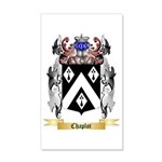 Chaplot 35x21 Wall Decal