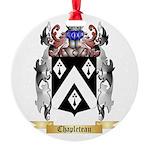 Chapleteau Round Ornament