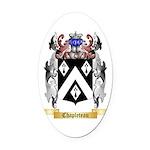 Chapleteau Oval Car Magnet