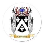 Chapleteau Round Car Magnet