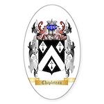 Chapleteau Sticker (Oval 50 pk)