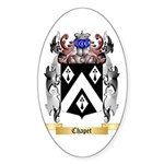 Chapet Sticker (Oval 50 pk)