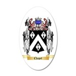 Chapet 20x12 Oval Wall Decal