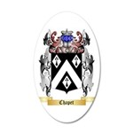 Chapet 35x21 Oval Wall Decal