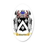 Chapellier Oval Car Magnet