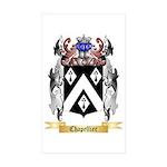 Chapellier Sticker (Rectangle 50 pk)
