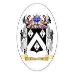 Chapellier Sticker (Oval 50 pk)