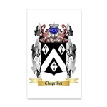 Chapellier 35x21 Wall Decal