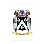 Chapelier Sticker (Rectangle 50 pk)