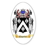 Chapelier Sticker (Oval 50 pk)
