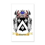Chapelier 20x12 Wall Decal