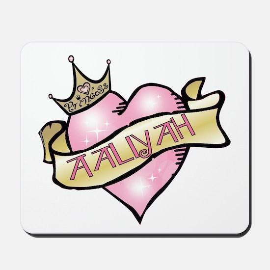 Sweetheart Aaliyah Custom Princess Mousepad