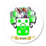 Chapel Round Car Magnet