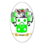 Chapel Sticker (Oval 50 pk)