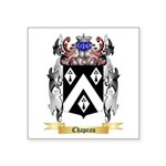 Chapeau Square Sticker 3
