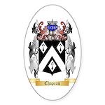 Chapeau Sticker (Oval 50 pk)
