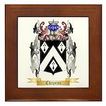Chapeau Framed Tile