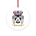 Chapeau Ornament (Round)