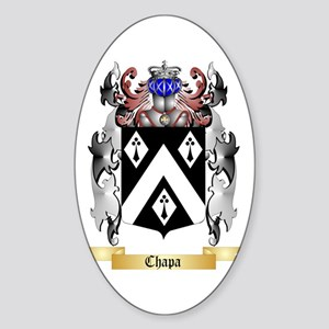 Chapa Sticker (Oval)
