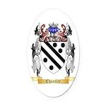Chantler Oval Car Magnet