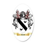Chant Oval Car Magnet