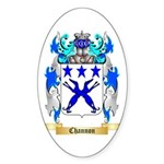 Channon Sticker (Oval 50 pk)