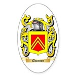 Channon 2 Sticker (Oval 50 pk)