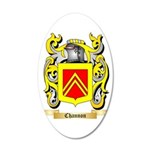 Channon 2 35x21 Oval Wall Decal