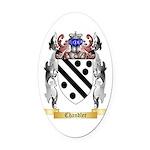 Chandler Oval Car Magnet