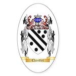 Chandler Sticker (Oval 10 pk)