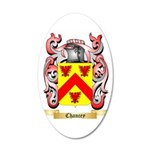Chancey 35x21 Oval Wall Decal