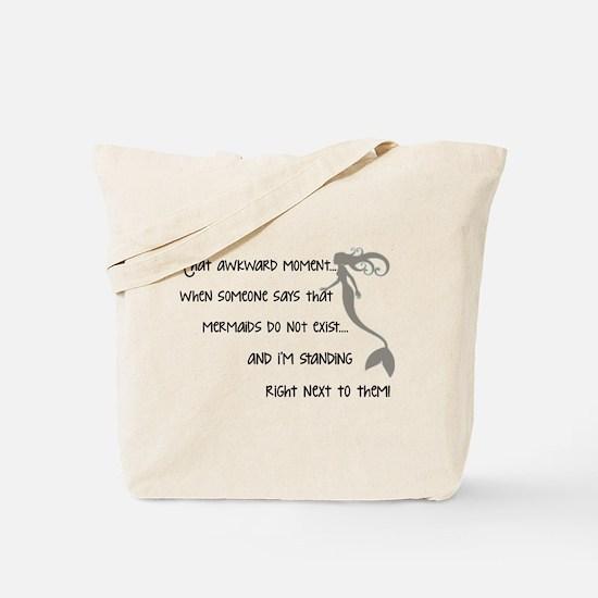 A Real Mermaid Tote Bag