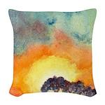 San Antonio Sunset Woven Throw Pillow