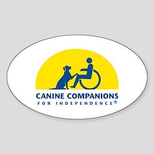 Color Canine Companions Logo Sticker