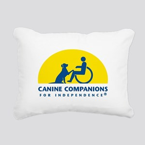 Color Canine Companions Logo Rectangular Canvas Pi
