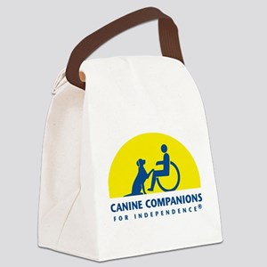 Color Canine Companions Logo Canvas Lunch Bag