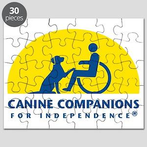 Color Canine Companions Logo Puzzle