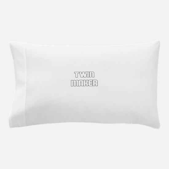 TWIN MAKER WHITE Pillow Case