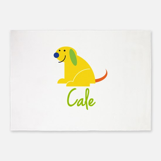 Cale Loves Puppies 5'x7'Area Rug