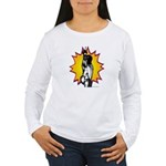 Lunge - Fencing Women's Long Sleeve T-Shirt