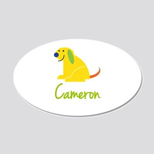 Cameron Loves Puppies Wall Decal