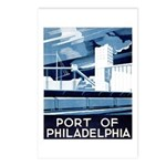 Port Of Philadelphia Postcards (Package of 8)