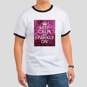 Keep Calm and Sparkle On T-Shirt