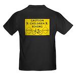 Caution Children Biking T-Shirt