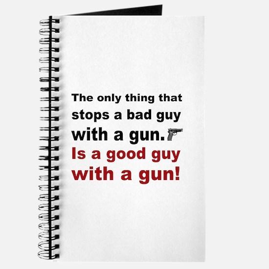 Good Guy with a gun Journal